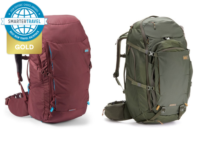 0ebafdd6310 The REI Ruckpack Backpack is the ultimate backpack. It has tons of pockets  and an easy-to-access main compartment. Complete with technical features  like a ...