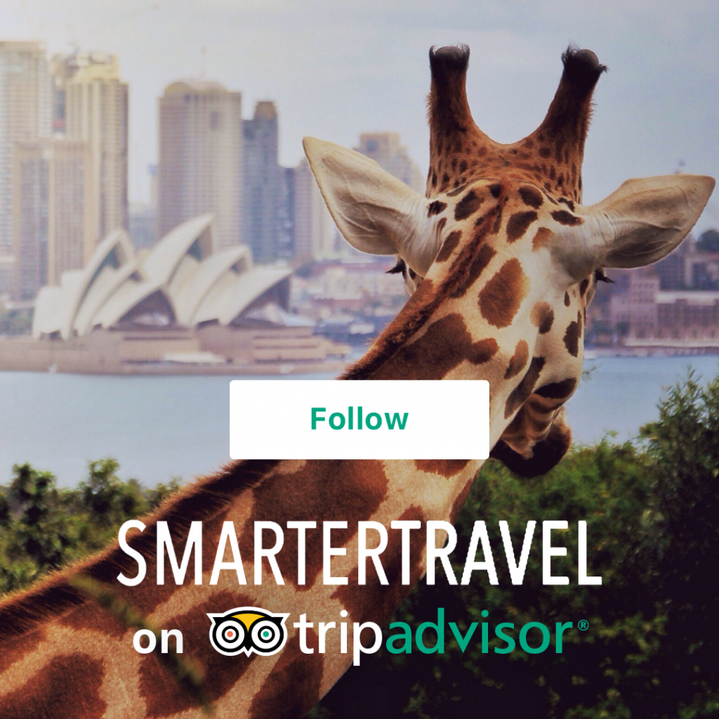 Follow smartertravel on the new tripadvisor