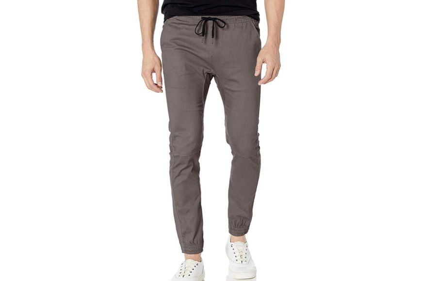 Brooklyn athletic men's twill jogger pants.