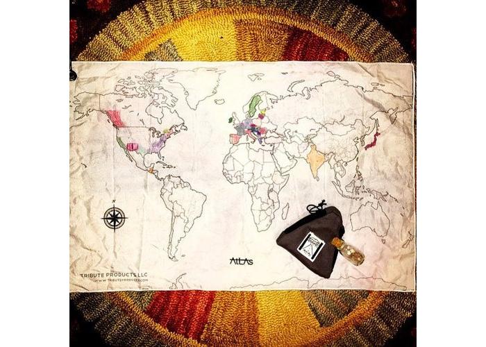 Atlas kit world map