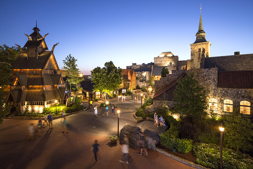 The Norway Pavilion is a Norwegian-themed pavilion along World Showcase promenade at Epcot.
