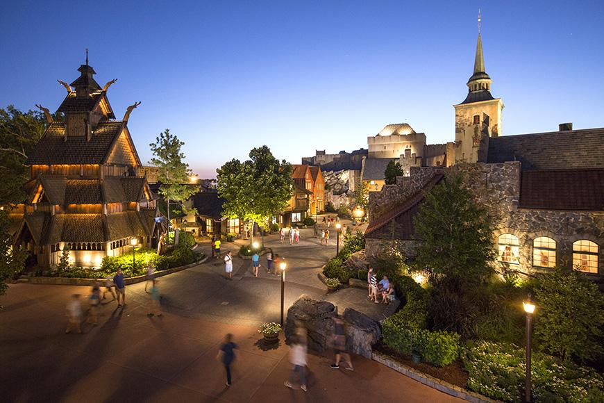 El Pabellón de Noruega es un pabellón de temática noruega junto al Epcot World Showcase.