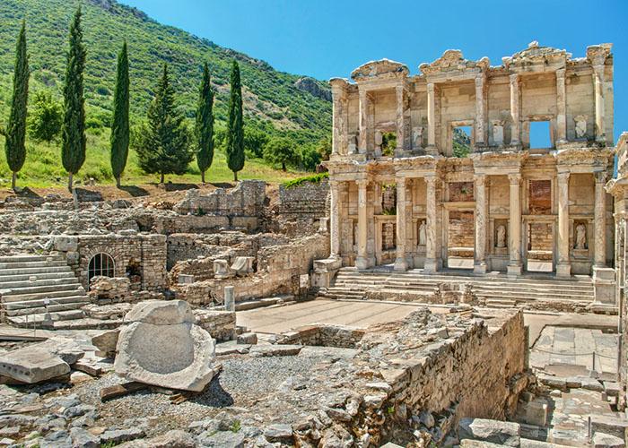ephesus turkey ruins