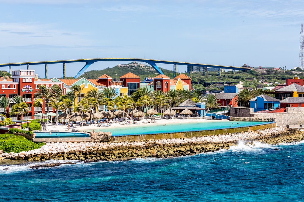 view of popular hotel on curacao with pool