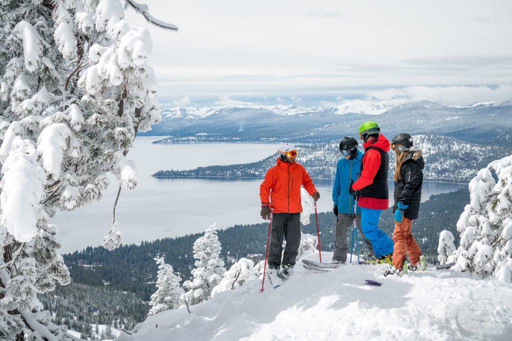 Diamond peak ski resort in nevada usa