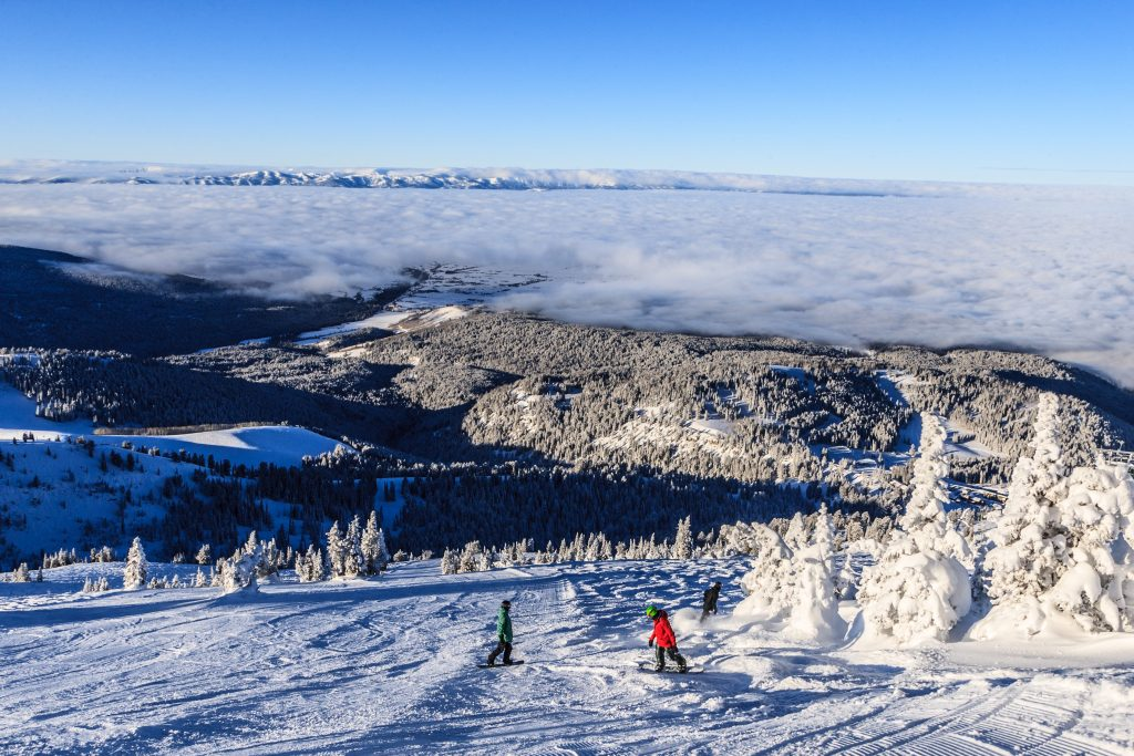 Grand targhee ski resort in wyoming