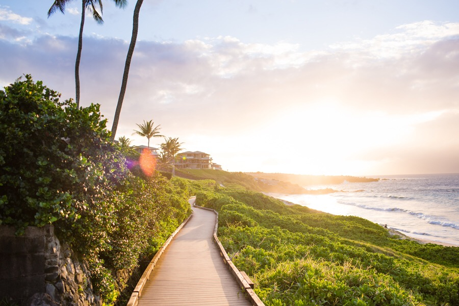 Hawaii Beach Boardwalk
