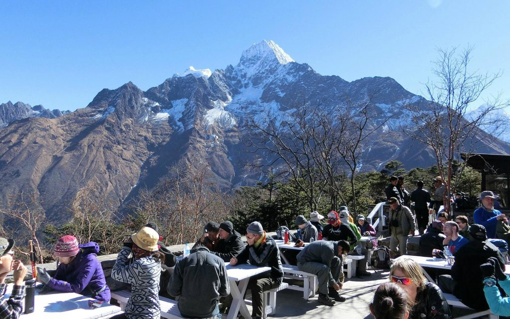 Hotel everest view, a mountain hotel in nepal