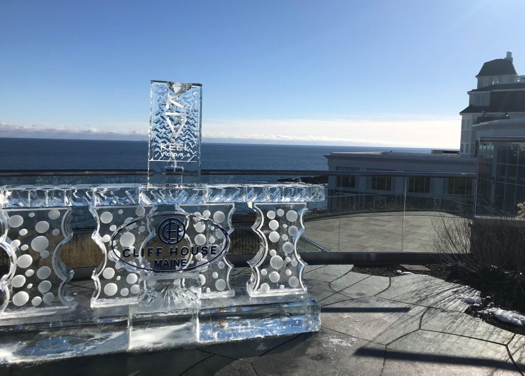 Cliff house ice bar