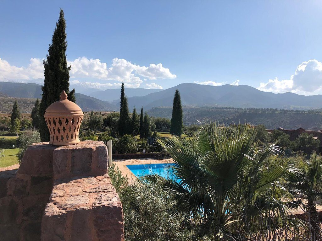 Kasbah angour atlas mountain hotel in morocco
