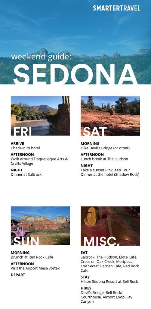 Sedona weekend guide