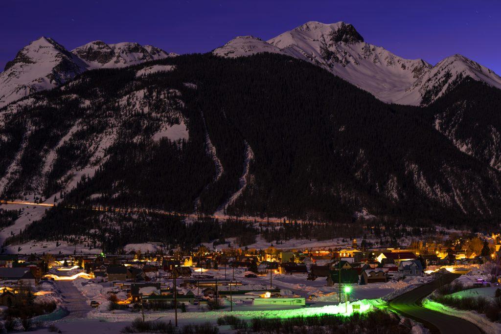 Silverton mountain ski resort in colorado, usa