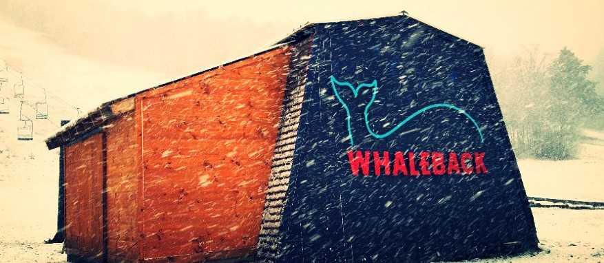 Whaleback mountain ski resort in new hampshire, united states