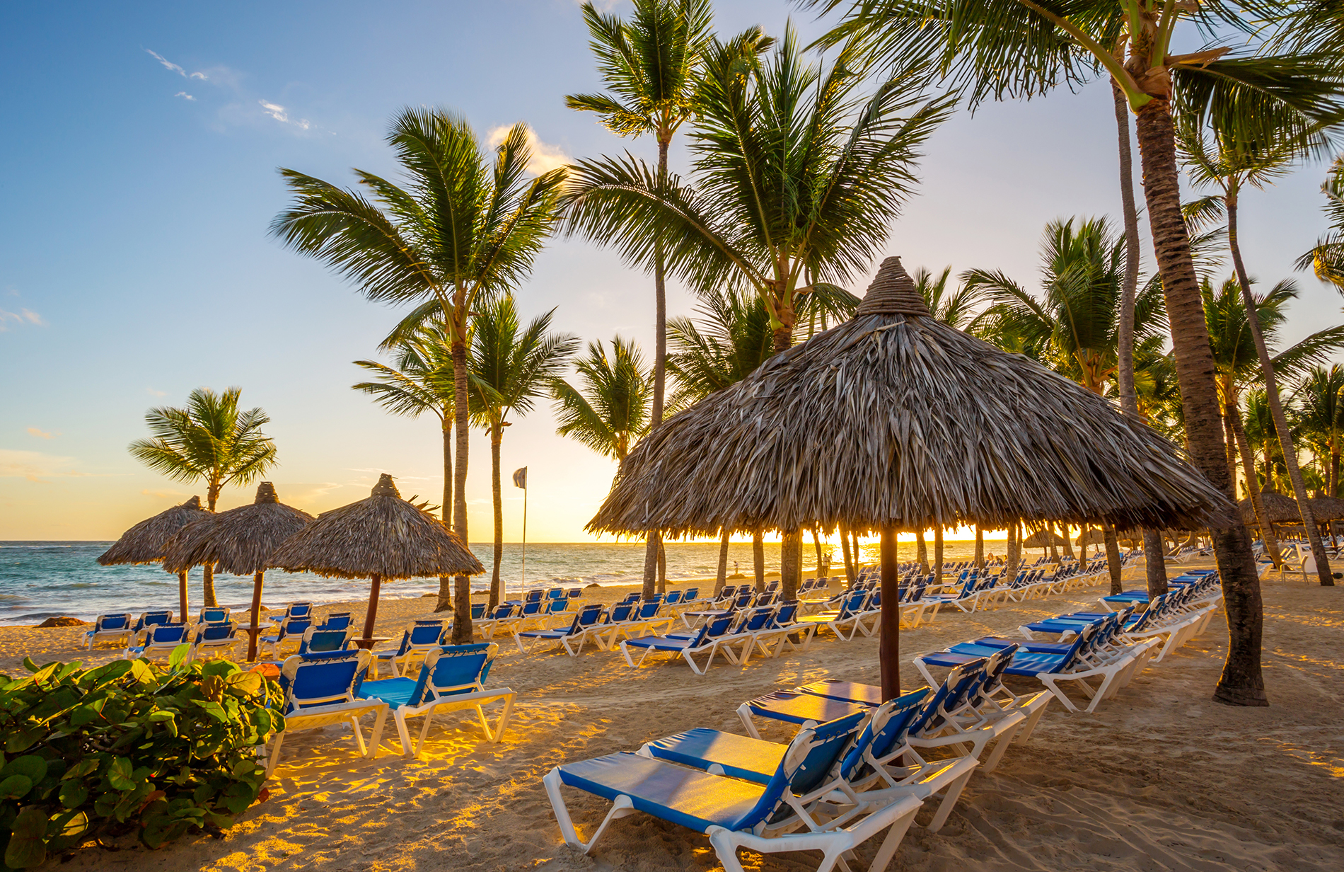 beach chairs in punta cana