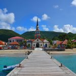 pier leading to martinique village