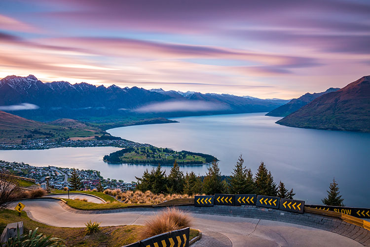 Queenstown new zealand is one of the cheapest places to fly spring