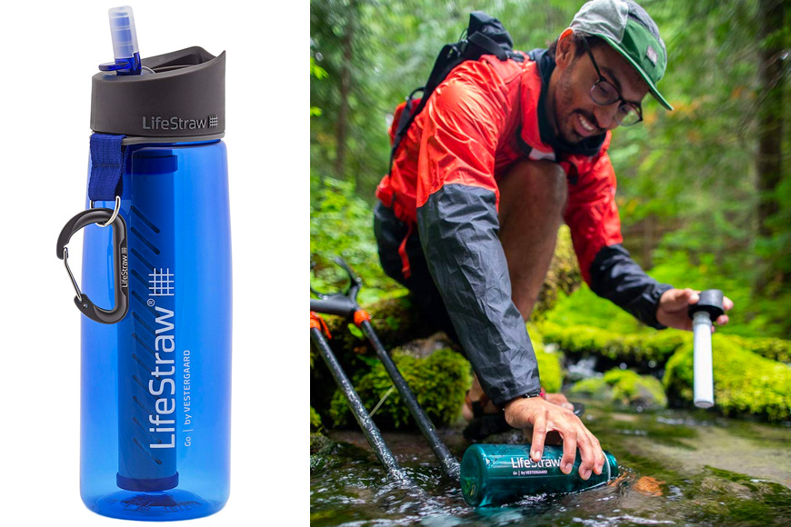 Bouteille de filtre à eau LifeStraw Go