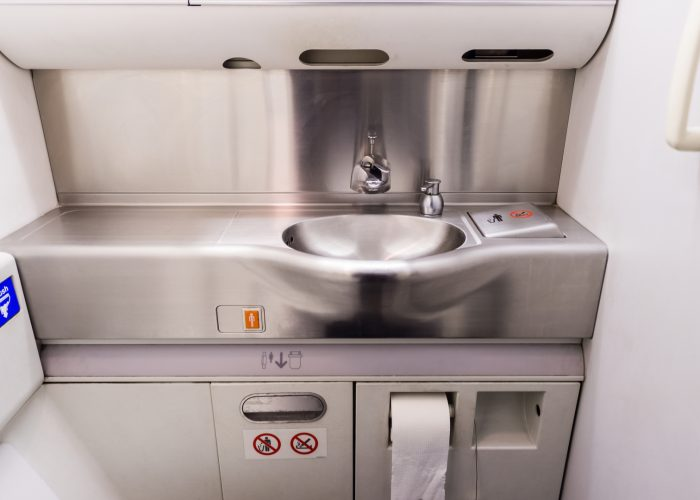airplane sink