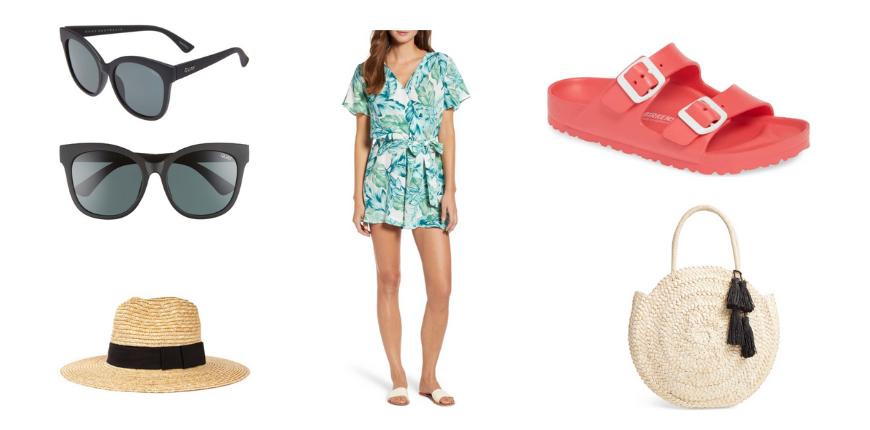 resort wear and spring break packing items