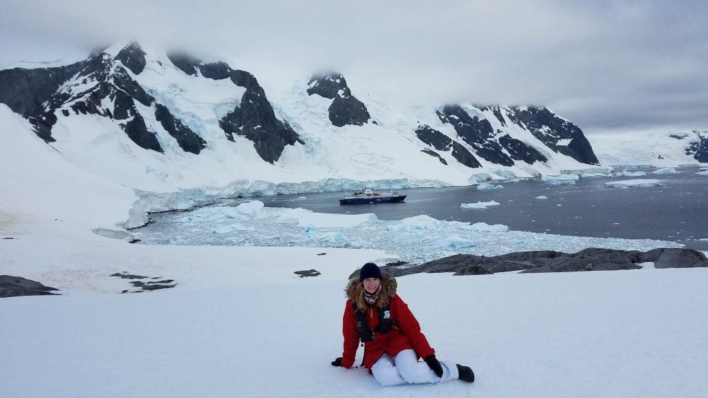 Antarctica continental landing