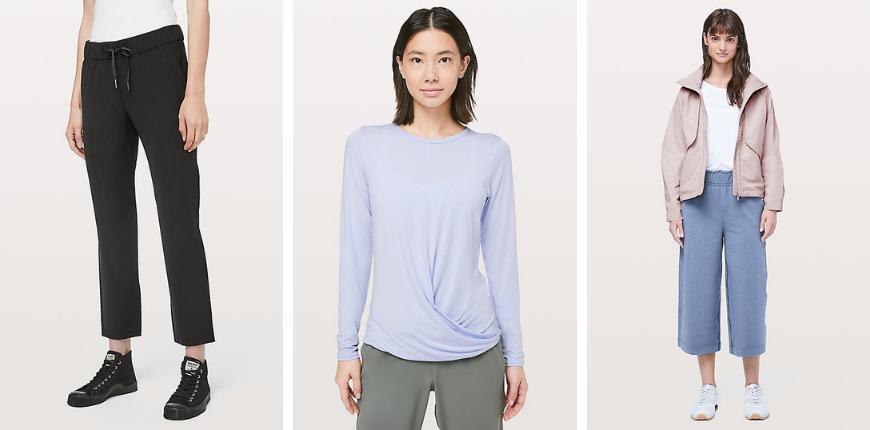 lululemon spring clothing items