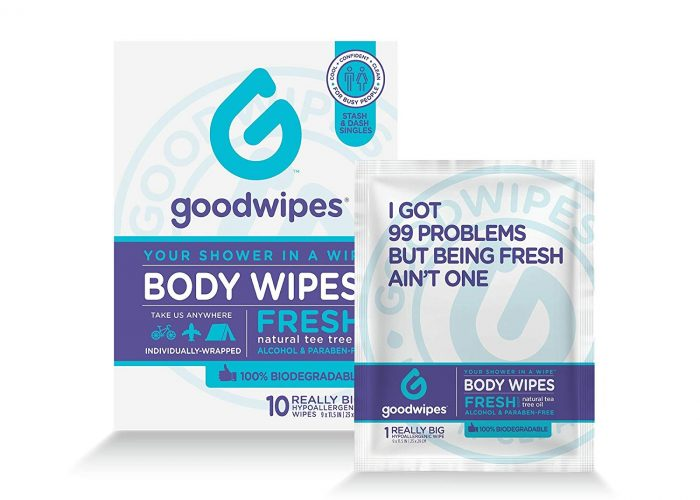 Goodwipes Review: A Back-Up Shower for Long Travel Days