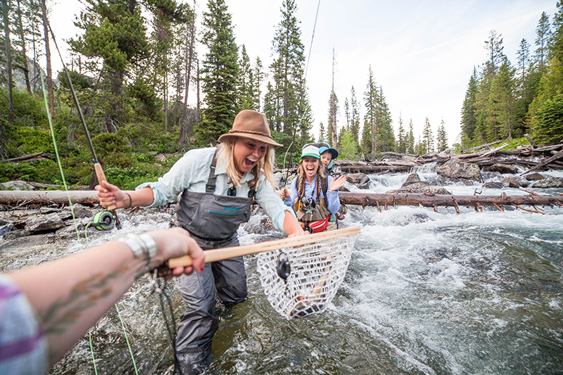 Orvis fly fishing trip