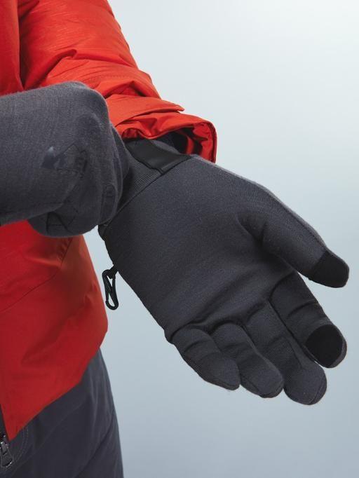 REI кооперативные перчатки из мериносовой шерсти