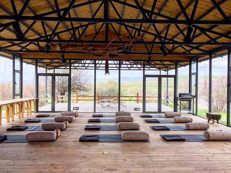 Souljourn yoga studio in tibet