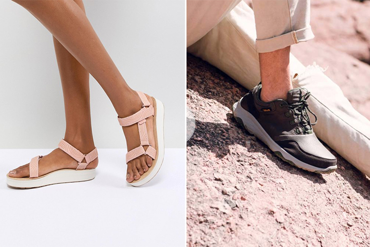 Teva sandals and arrowood 2 waterproof shoes