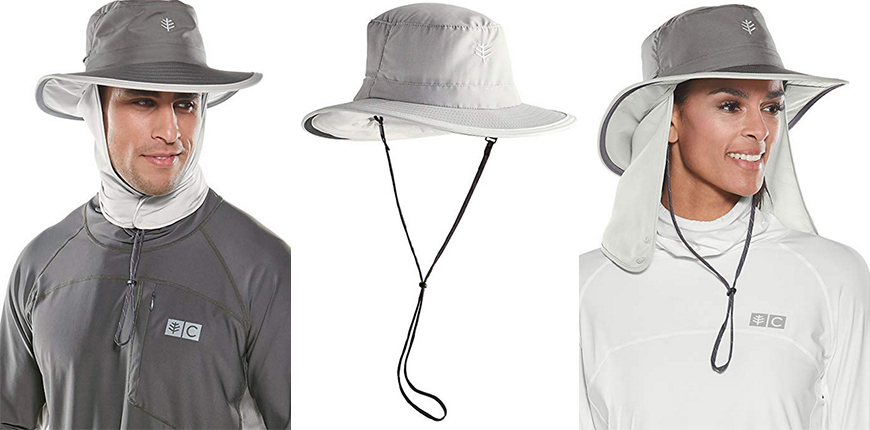 coolibar convertible boating hat