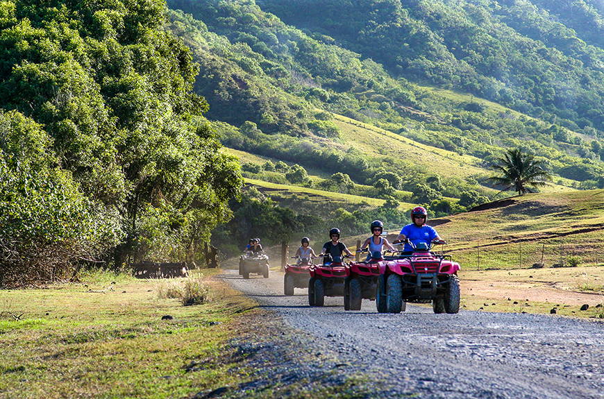 atvs at kualoa ranch