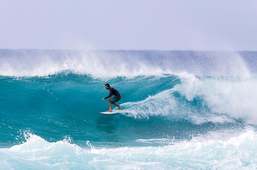surfer north shore oahu