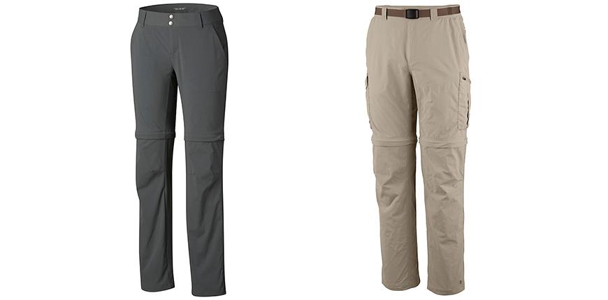 zip-off pants from columbia