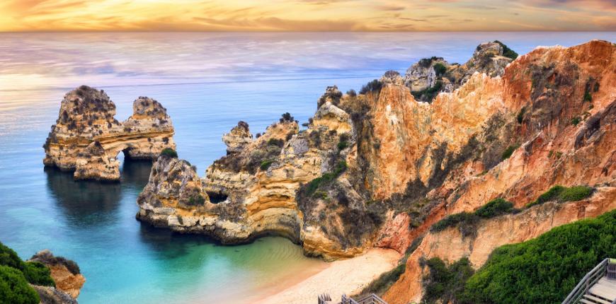 Camilo beach lagos portugal