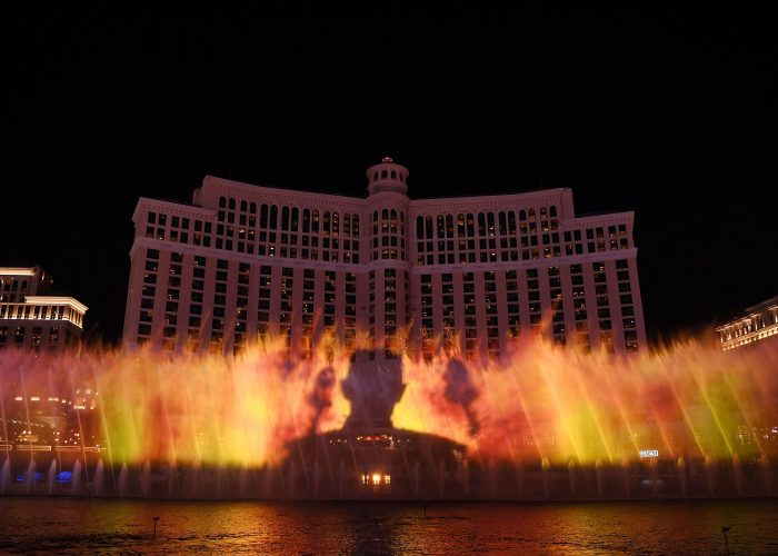 Watch 'Game of Thrones' Take Over the Bellagio Fountains