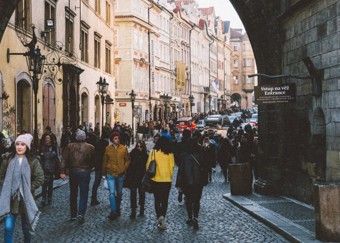 Prague mala strana neighborhood