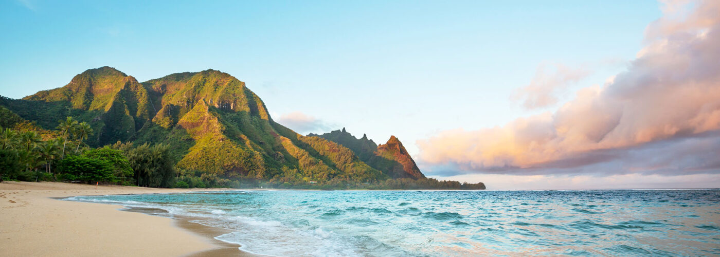 beach in kauai.