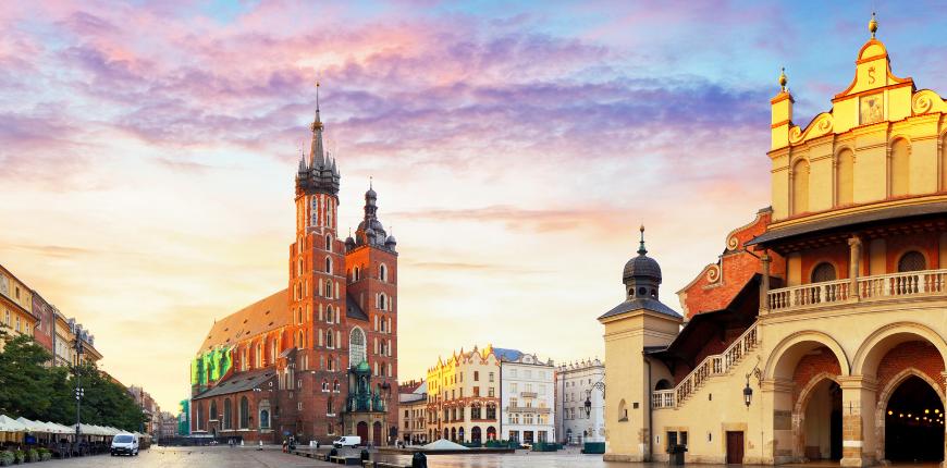 krakow poland city center
