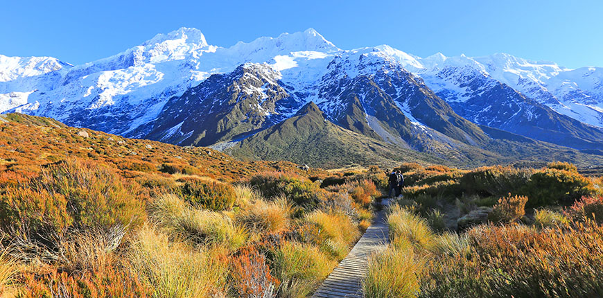 mount cook new zealand.