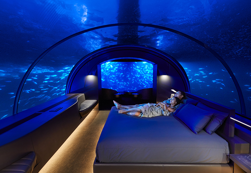 muraka undersea bedroom