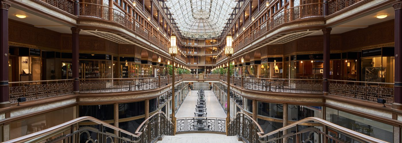 Cleveland Arcade from staircase