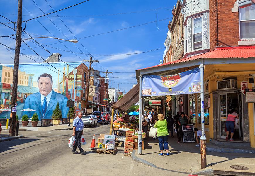 south 9th street italian market philadelphia