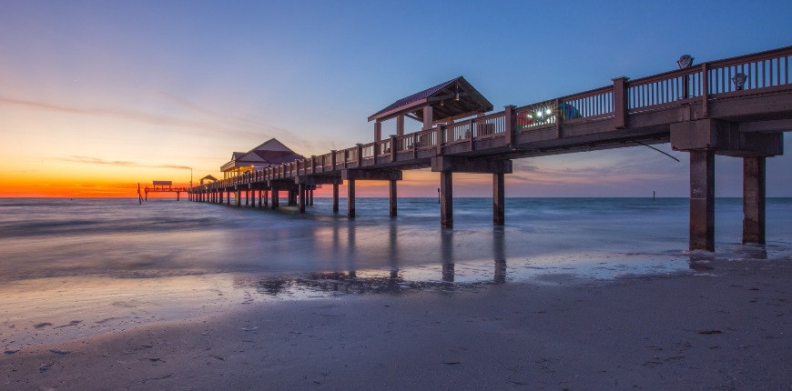 sunset clearwater beach florida
