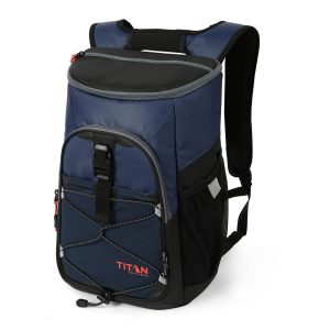 picture of the blue arctic zone titan backpack cooler