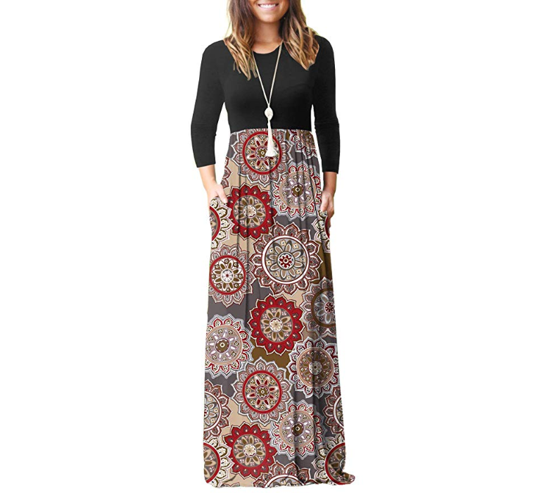 GRECERELLE women's maxi dress