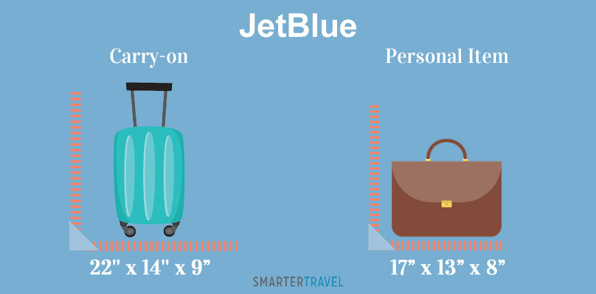 Carry On And Personal Item Size Limits For 32 Major Airlines