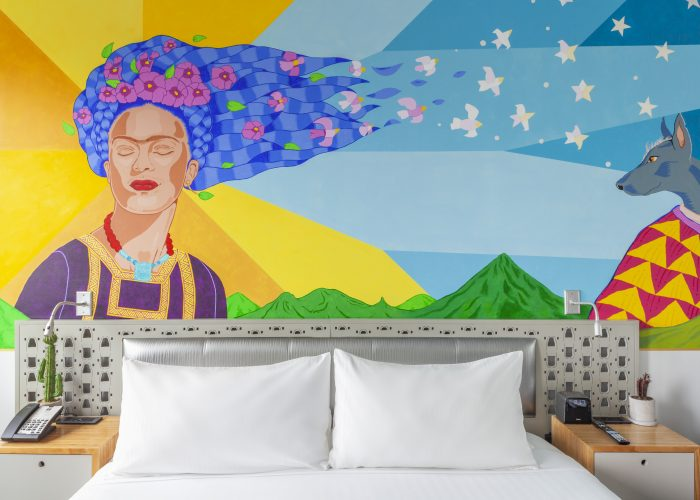 frida kahlo room nu hotel