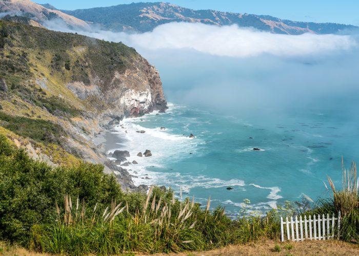 San Luis Obispo, California, coastline.