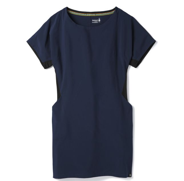 Women's merino sport short sleeve dress.